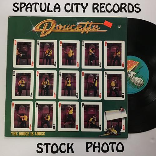 Doucette - The Douce is Loose - vinyl record LP