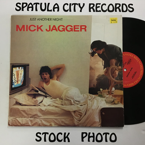 Mick Jagger - Just Another Night - PROMO - vinyl record LP
