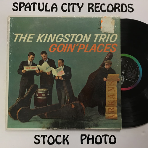 Kingston Trio, The - Goin' Places - MONO - vinyl record LP