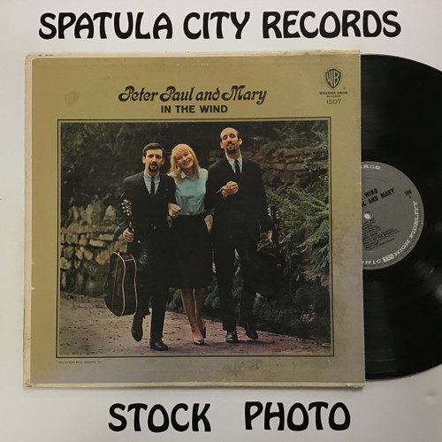 Peter, Paul and Mary - In the Wind - MONO - vinyl record LP