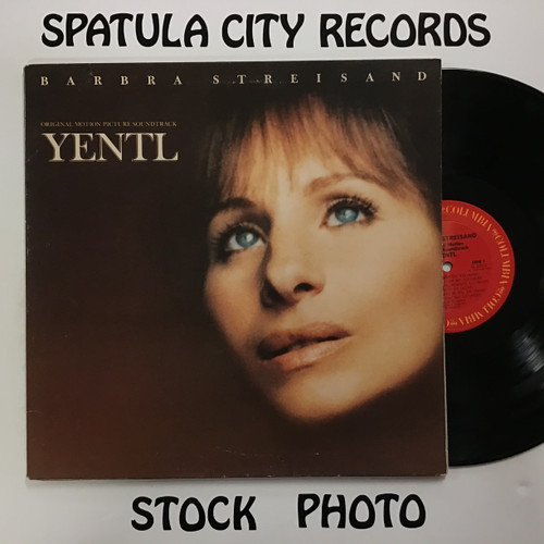Barbra Streisand - Yentl - Soundtrack - vinyl record LP