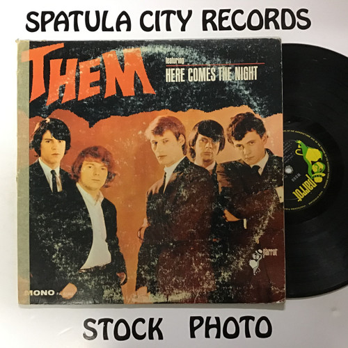 Them - Here Comes the Night - MONO - vinyl record LP