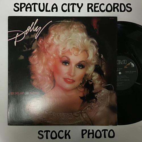 Dolly Parton - Burlap and Satin - vinyl record LP