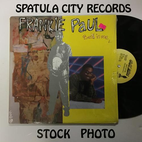 Frankie Paul - Best In Me - vinyl record LP