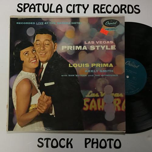 Louis Prima and Keely Smith - Las Vegas Prima Style - MONO - vinyl record LP
