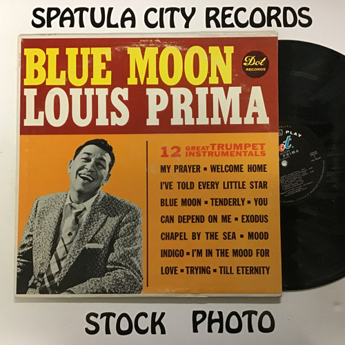Louis Prima - Blue Moon - MONO - vinyl record LP