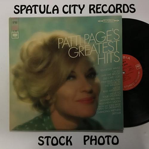 Patti Page - Pattie Page's Greatest Hits - vinyl record LP