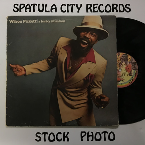 Wilson Pickett - A Funky Situation - vinyl record LP
