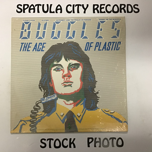 Buggles, The - The Age of Plastic  - vinyl record LP