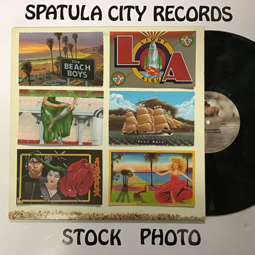 Beach Boys, The - L.A. (Light Album) - vinyl record LP