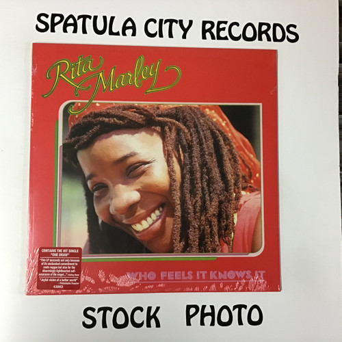 Rita Marley - Who Feels it Knows it - Sealed - Re-issue 2015 - vinyl record LP