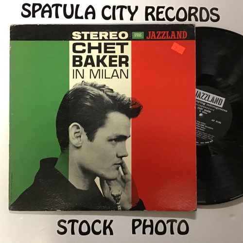 Chet Baker - In Milan - vinyl record LP