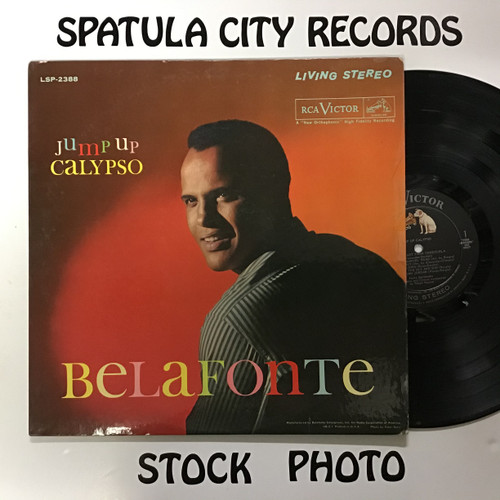 Harry Belafonte - Jump Up Calypso - vinyl record LP