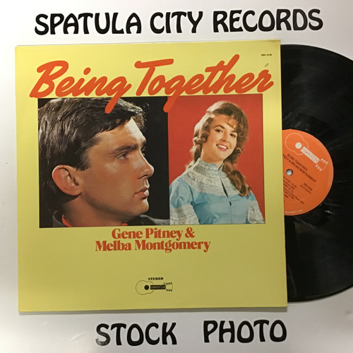 Gene Pitney and Melba Montgomery - Being Together - vinyl record LP