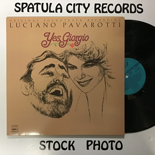 Luciano Pavarotti - Yes, Giorgio - Soundtrack - IMPORT - vinyl record LP