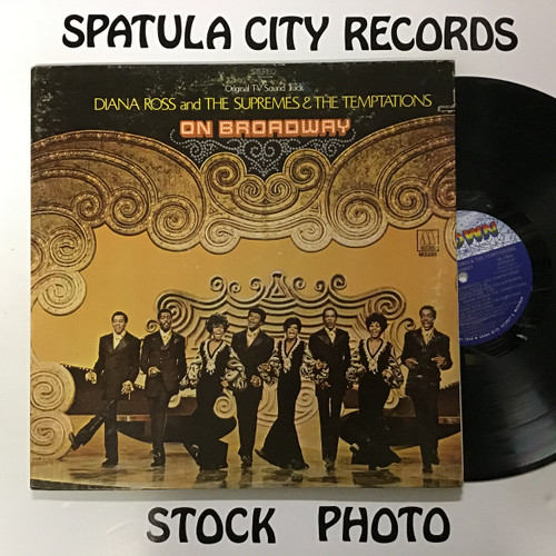 Diana Ross and the Supremes and the Temptations - On Broadway - vinyl record LP