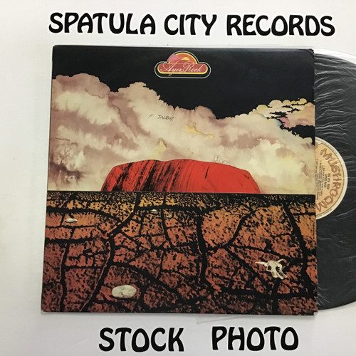 Ayers Rock - Big Red Rock - IMPORT  - vinyl record album LP