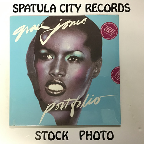 Grace Jones - Portfolio - SEALED - vinyl record LP