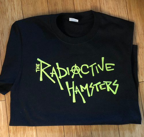 RadioActive Hamster Tour Spatula City  Records T-shirt