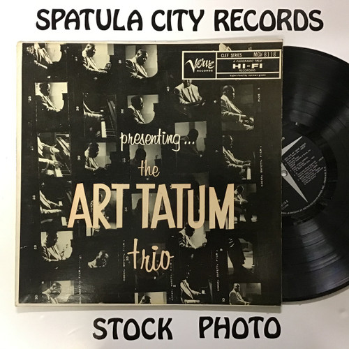 Art Tatum Trio, The - Presenting...The Art Tatum Trio - MONO - vinyl record LP