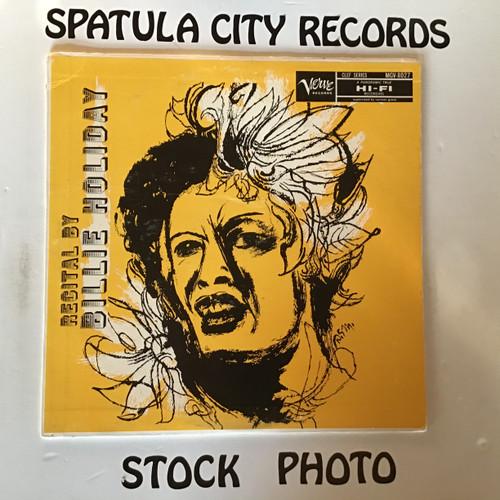 Billie Holiday - Recital By Billie Holiday - MONO - vinyl record LP