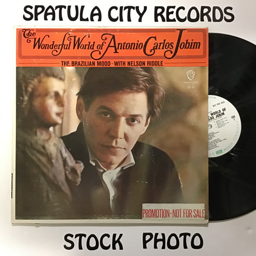 Antonio Carlos Jobim - The Wonderful World of Antonio Carlos Jobim - PROMO - vinyl record LP