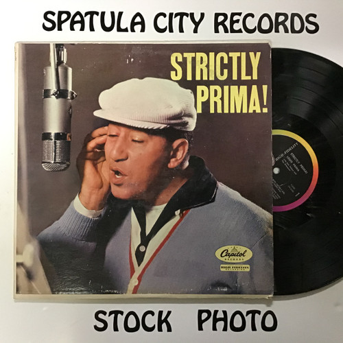 Louis Prima - Strictlyl Prima! - MONO - vinyl record LP
