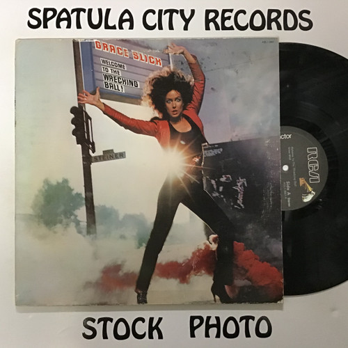 Grace Slick - Welcome to the Wrecking Ball! - vinyl record LP