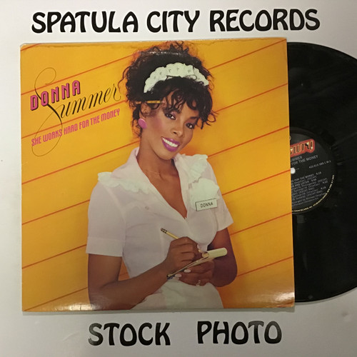 Donna Summer - She Works Hard For The Money - vinyl record LP