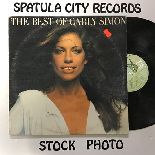 Carly Simon - The Best of Carly Simon - vinyl record LP