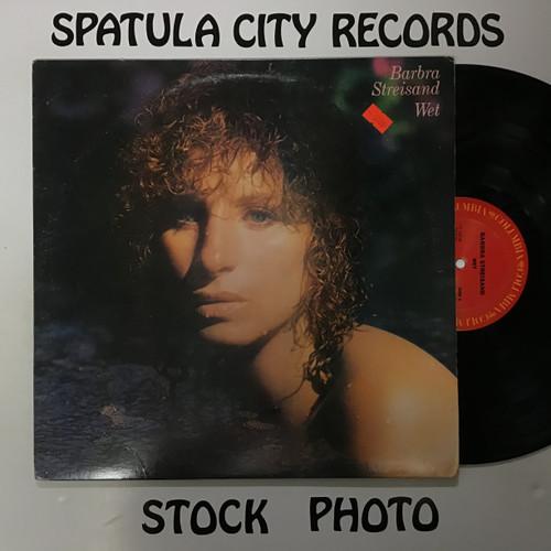 Barbra Streisand - Wet - vinyl record LP