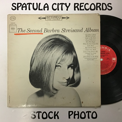 Barbra Streisand - The Second Barbra Streisand Album - vinyl record LP