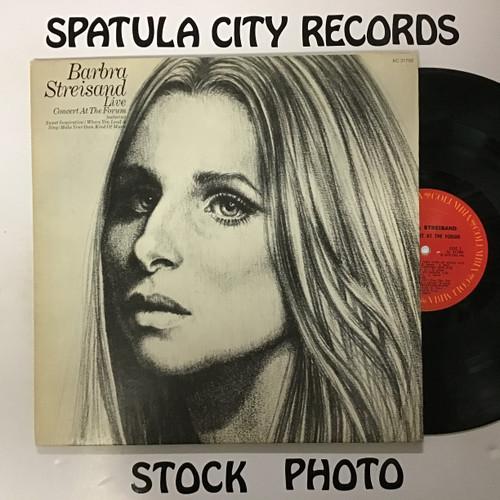 Barbra Streisand - Live Concert at the Forum - vinyl record LP