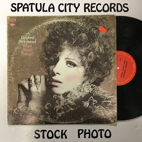 Barbra Streisand - What About Today? - vinyl record LP