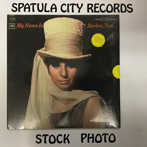 Barbra Streisand - My Name is Barbra, Two - SEALED - vinyl record LP