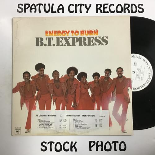 B.T. Express - Energy to Burn - PROMO - vinyl record LP