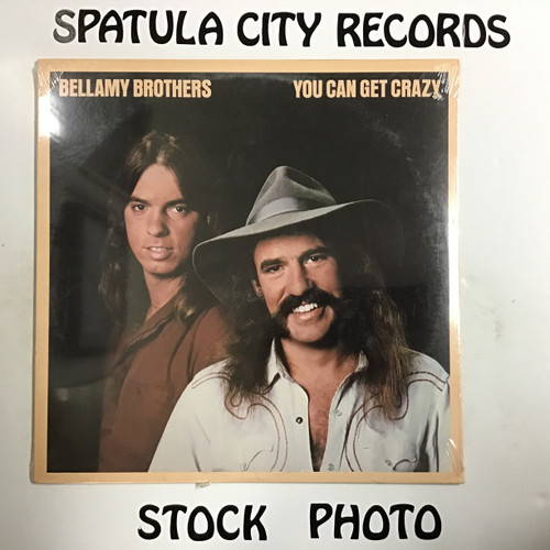 Bellamy Brothers - You Can Get Crazy - SEALED - vinyl record LP