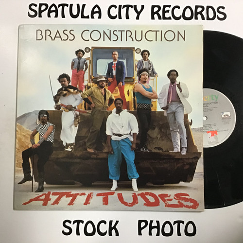 Brass Construction - Attitudes - vinyl record LP
