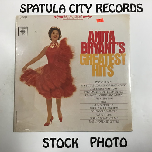 Anita Bryant - Anita Bryant's Greatest Hits - SEALED - vinyl record LP