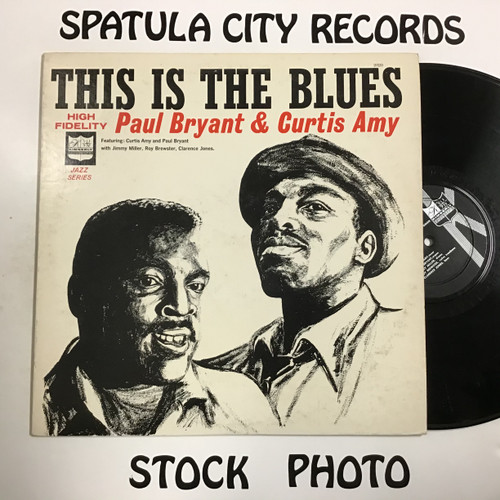 Paul Bryant and Curtis Amy - This Is the Blues - MONO - vinyl record LP