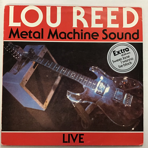 Lou Reed - Metal Machine Sound Vinyl record