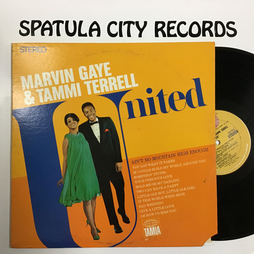 Marvin Gaye and Tammi Terrell - United - vinyl record LP