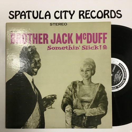 Brother Jack McDuff - Somethin' Slick - vinyl record LP