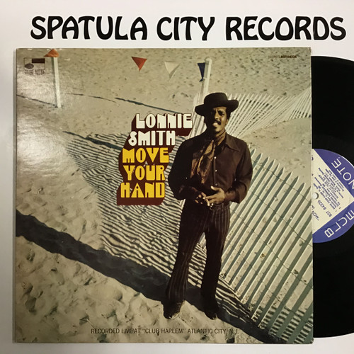 Lonnie Smith - Move Your Hand - vinyl record LP