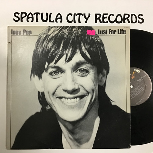 Iggy Pop - Lust For Life - vinyl record LP