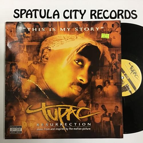Tupac - Resurrection - soundtrack - double vinyl record LP