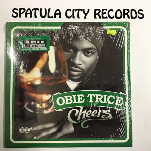 Obie Trice - Cheers - SEALED - double vinyl record LP