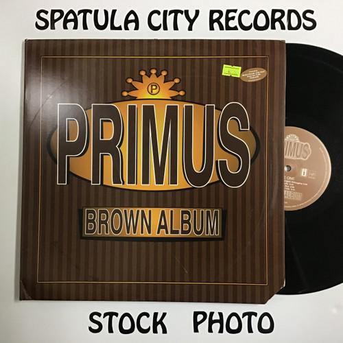 Primus - Brown Album - double vinyl record LP