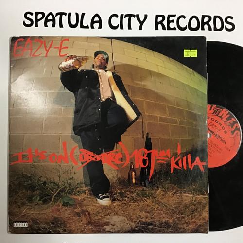 Eazy-E - It's On (Dr. Dre) 187um Killa - vinyl record LP