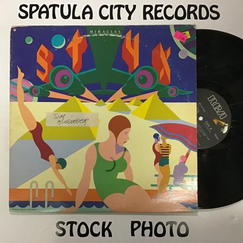 Styx - Miracles - vinyl record LP